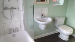 Installation of bathrooms