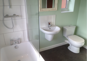 Installation of bathrooms