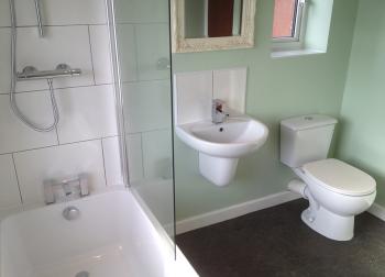 Craig hunry certificate cph plumbing ltd for Bathrooms b q installation